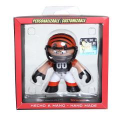 Compara precios de Figura Stronk Mini NFL Cincinnati Bengals - Naranja y Negro