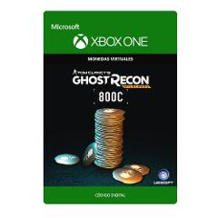 Compara precios de Xbox One Tom Clancy's Ghost Recon Wildlands Currency pack 800 GR credits Digital