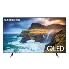 """Compara precios de Samsung - Pantalla de 65"""" - Plana - Q-LED - 4K Ultra HD - Smart TV - HDR - QN65Q70RAFXZX - Negro"""