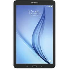 "Compara precios de Tablet Samsung Galaxy Tab E Quad Core RAM 1GB Flash 8GB Android OS Bluetooth LED 9.6""-Negro."
