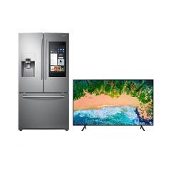 """Compara precios de Bundle Refrigerador Family Hub French Door 24 p3 + TV 65"""""""