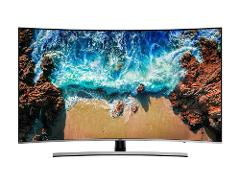 "Samsung - Pantalla de 55"" - Curva - Ultra HD 4K - HDR - Smart TV - Negro preview"