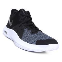 Tenis Nike Air Versitile III - Negro y Gris preview