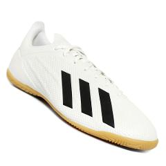 Dispensación Tierra tono  Tenis de Futbol Adidas X Tango 18.4 IC - Blanco y Negro - Buscaya