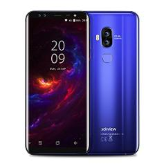 foerteng teléfonos móviles Dual-SIM International Smartphone 4G celular teléfonos Android, visualización de 14.5cm HD IPS, 7.0, 13MP trasera + 0.3mprear cámara Dual, 64GB ROM + RAM de 4GB + 128g tarjeta Micro, Azul preview
