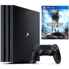 Compara precios de Consola Sony PlayStation 4 Pro - 1TB Star Wars: Battlefront Bundle