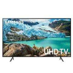 "Compara precios de Samsung - Pantalla de 65"" - Plana - Ultra HD 4K - HDR - Smart TV - UN65RU7100FXZ - Negro"