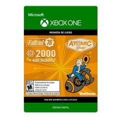 Compara precios de Fallout 76 2000 + 400 Atoms Xbox One