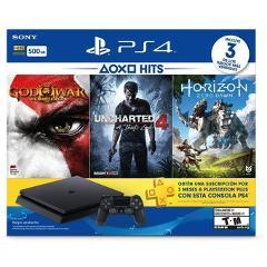 Compara precios de Consola Playstation 4 Slim 500 Gb + 3 Juegos