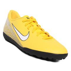 Compara precios de Tenis de Futbol Nike Vapor 12 Club NJR TF - Amarillo y Negro