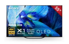 "Sony – Pantalla 55"" OLED - A8G - Smart TV – HDR – Negro preview"