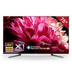"Sony - Pantalla de 75"" - Plana - 4K Ultra HD - Alto rango dinámico (HDR) - Smart TV Android TV - XBR-75X950G - Negro preview"