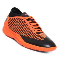 Compara precios de Tenis de Futbol Puma Future 2.4 TF - Naranja y Negro