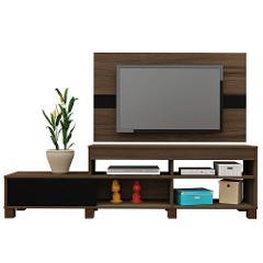 Compara precios de Mesa Tv Más Panel Ever Madera con Negro