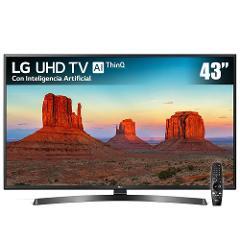 Compara precios de Pantalla LED LG 43 Pulgadas UHD Smart 43UK6250 + Magic Control Remote
