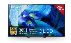 "Sony – Pantalla 65"" OLED - A8G - Smart TV – HDR – Negro preview"
