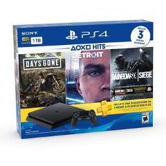 PS4 Slim 1TB Hits Bundle: Days Gone, Detroit, Tom Clancys Rainbow Six preview