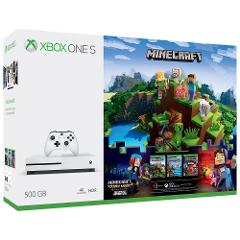 Compara precios de Consola Xbox One S 500 GB + Minecraft + Xbox Live Gold (3 meses)