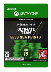 Compara precios de NBA Live 19: NBA UT 5850 Points Pack Xbox One