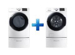 Compara precios de Samsung - Paquete Lavadora y Secadora Carga Frontal 20 Kg
