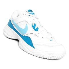 Compara precios de Tenis Nike Court Lite - Blanco y Azul Turquesa