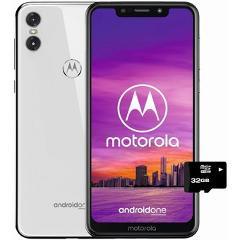 Compara precios de Moto One 64gb+4+MicroSD32gb GRATIS Dual Sim Liberado-blanco