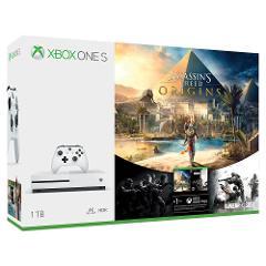 Compara precios de Consola Xbox One S 1TB + Assassin's Creed Origins + Rainbow Six Siege
