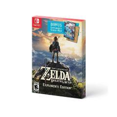 Compara precios de The Legend of Zelda: Breath of the Wild Explorer's Edition Nintendo Switch