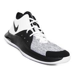 Tenis Nike Air Versitile III - Blanco y Negro preview